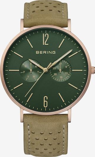 BERING Uhr in grün / rosé, Produktansicht