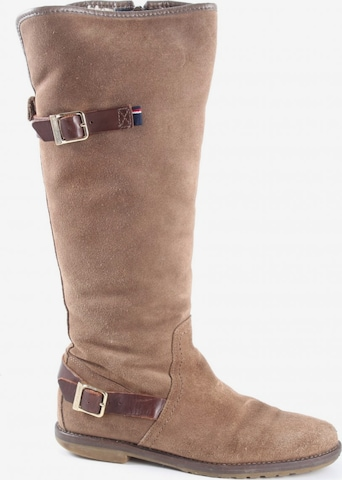 TOMMY HILFIGER Dress Boots in 36 in Brown