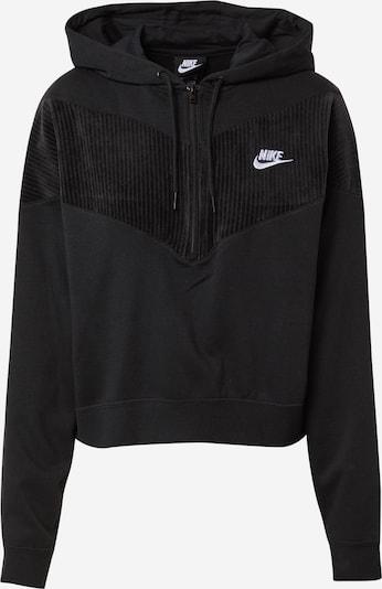 Nike Sportswear Sweatshirt 'Heritage' in de kleur Zwart, Productweergave