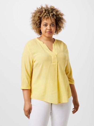 MY TRUE ME Bluse in gelb, Modelansicht
