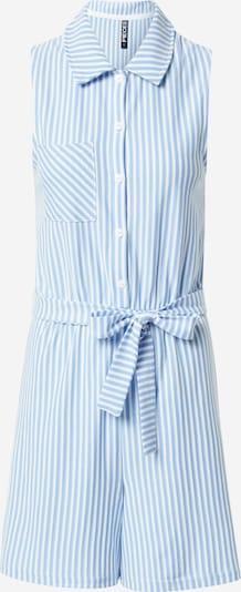 PIECES Jumpsuit 'TAMAR' in Light blue / White, Item view