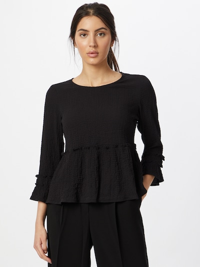 ONLY Shirt 'HENRIETTA' in schwarz, Modelansicht