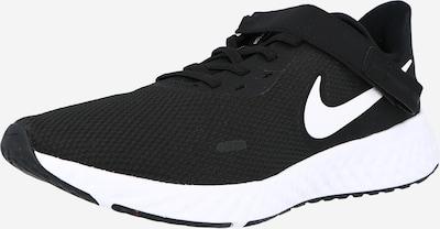 NIKE Спортни обувки 'Revolution 5 FlyEase' в черно / бяло, Преглед на продукта
