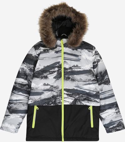 Žieminė striukė iš NAME IT , spalva - pilka / juoda, Prekių apžvalga