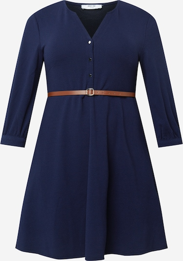 ABOUT YOU Curvy Kleid 'Ilona' in dunkelblau, Produktansicht