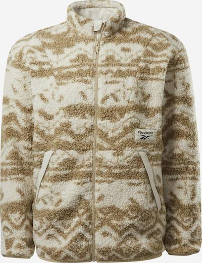 Reebok Classic Sweatshirt 'Winter Escape' in khaki / weiß, Produktansicht