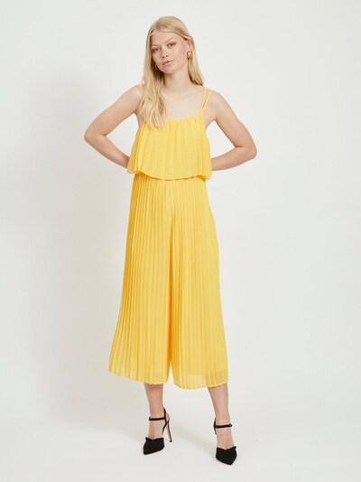 VILA Kleid in gelb, Modelansicht