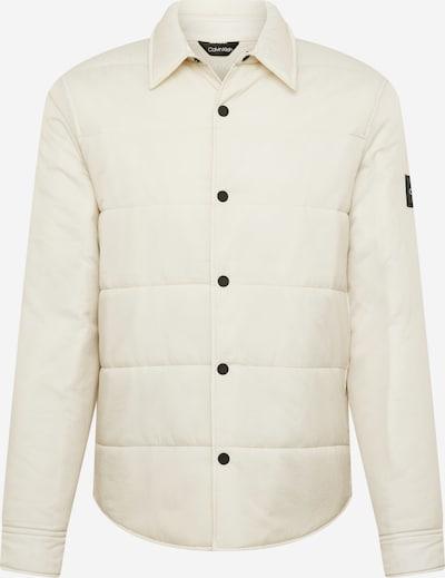 Calvin Klein Veste mi-saison en beige, Vue avec produit