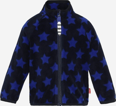 Racoon Outdoor Fleece jas 'Luis' in de kleur Nachtblauw / Hemelsblauw, Productweergave