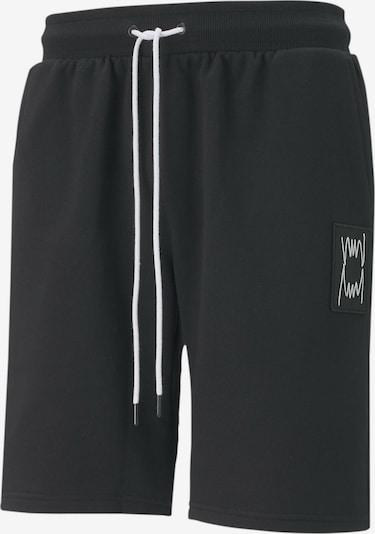 PUMA Sporthose 'Pivot' in schwarz / weiß, Produktansicht