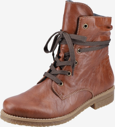 RIEKER Lace-Up Ankle Boots in Caramel, Item view