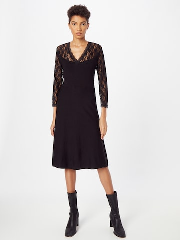 Derhy Knitted dress in Black