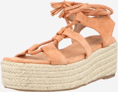 Sandale cu baretă GLAMOROUS pe roz, Vizualizare produs