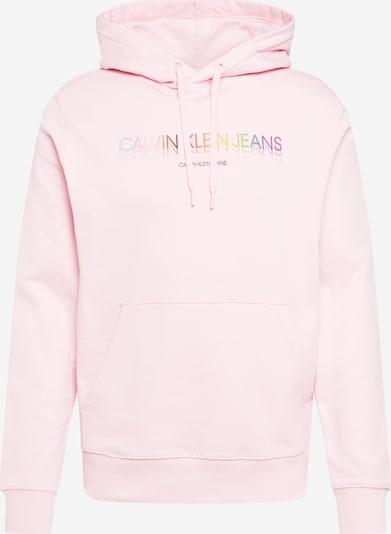Calvin Klein Jeans Sweatshirt 'PRIDE' in mischfarben / pastellpink, Produktansicht