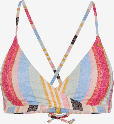 O'NEILL Bikinitop 'Baay' in hellblau / gelb / mischfarben / rot / weiß, Produktansicht