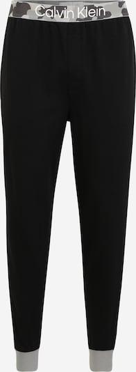 Calvin Klein Underwear Панталон пижама в опушено синьо / светлосиво / тъмносиво / черно / бяло, Преглед на продукта