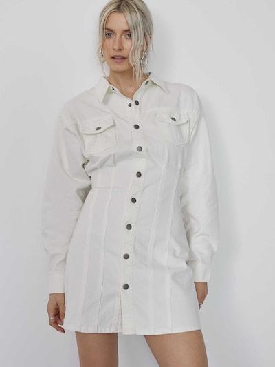LeGer by Lena Gercke Košulja haljina 'Zehra' u bijela, Prikaz modela