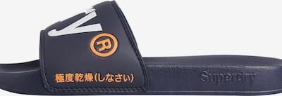 Superdry Strand-/badschoen in de kleur Donkerblauw, Productweergave