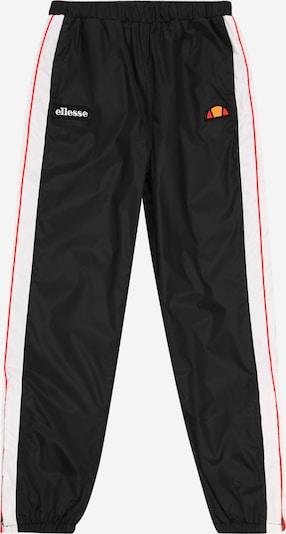 ELLESSE Pantalon 'Orvicta' en rouge / noir / blanc, Vue avec produit