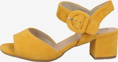 JANA Sandales à lanières en or, Vue avec produit