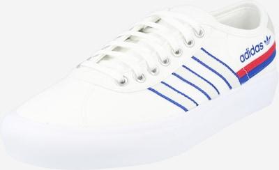 ADIDAS ORIGINALS Zemie brīvā laika apavi 'Delpala' cementpelēks / zils / sarkans / balts, Preces skats