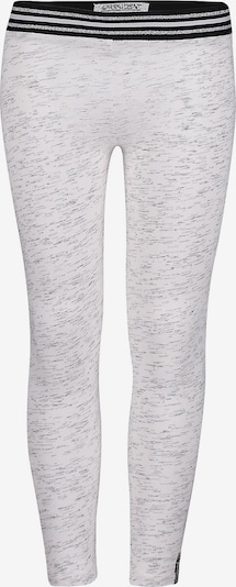 4PRESIDENT Leggings in schwarz / silber / weiß, Produktansicht