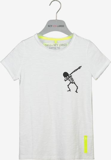 Key Largo T-Shirt 'BT Faster' in weiß, Produktansicht