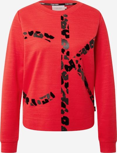 Calvin Klein Sweatshirt in rot / schwarz, Produktansicht