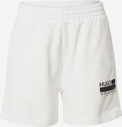 HUGO Pants in Black / White, Item view