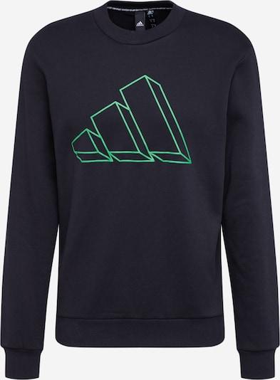 ADIDAS PERFORMANCE Camiseta deportiva en verde hierba / negro, Vista del producto
