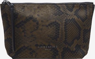 Liebeskind Berlin Cosmetic bag in Brown / Black, Item view