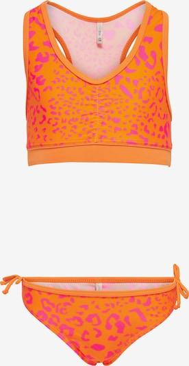 KIDS ONLY Bikini 'Marie' in neonorange / neonpink, Produktansicht
