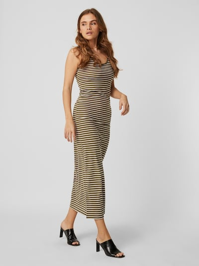 VERO MODA Kleid 'Nanna' in hellgrün / weiß, Modelansicht