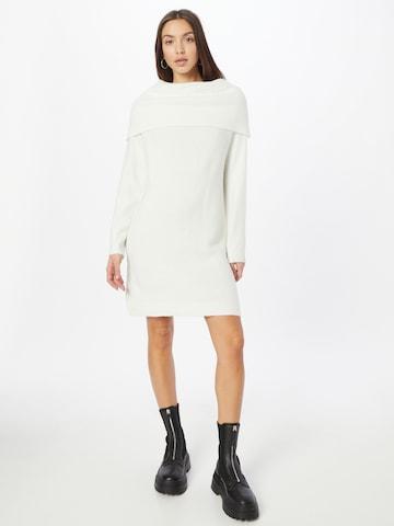 VILA Knit dress 'FLINKA' in White