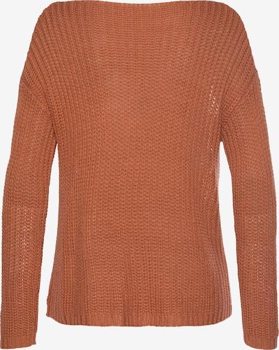 LASCANA Pullover in orange, Produktansicht