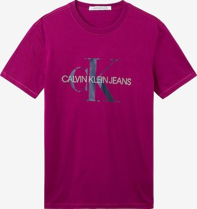 Calvin Klein Jeans Majica u malina / crna / bijela, Pregled proizvoda