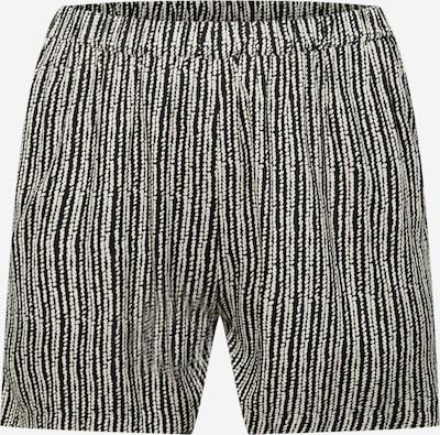ONLY Carmakoma Shorts 'Mille' in schwarz / weiß, Produktansicht