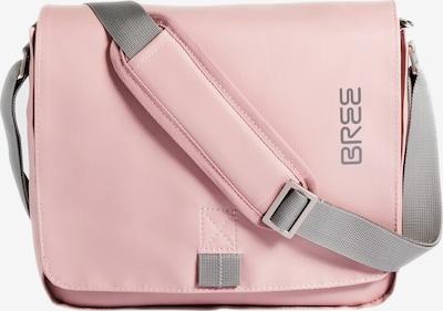 BREE Schoudertas 'Punch' in de kleur Grijs / Rosa, Productweergave