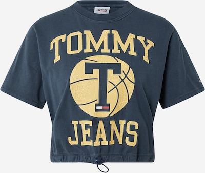 Tommy Jeans T-shirt en bleu marine / jaune clair / rouge / blanc, Vue avec produit