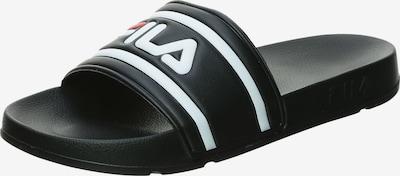 FILA Badesandale 'Morro Bay 2.0' in schwarz / weiß, Produktansicht
