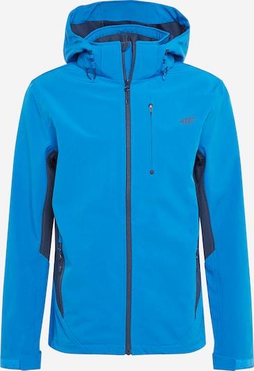4F Outdoorová bunda - kráľovská modrá / modrofialová, Produkt
