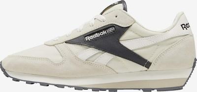 Reebok Classic Sneaker in beige / schwarz / weiß: Frontalansicht