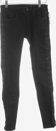 ZARA Röhrenjeans in 25-26 in schwarz, Produktansicht
