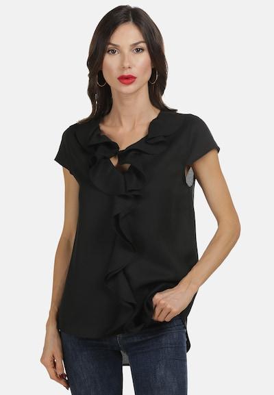 faina Bluse in schwarz, Modelansicht