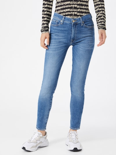 7 for all mankind Jeans in blue denim, Modelansicht
