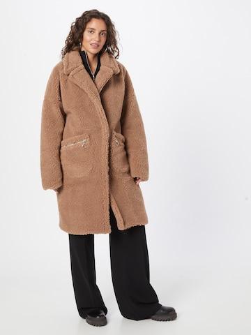 smėlio Missguided Demisezoninis paltas
