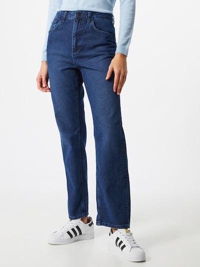 NU-IN Jeans in de kleur Blauw denim, Modelweergave