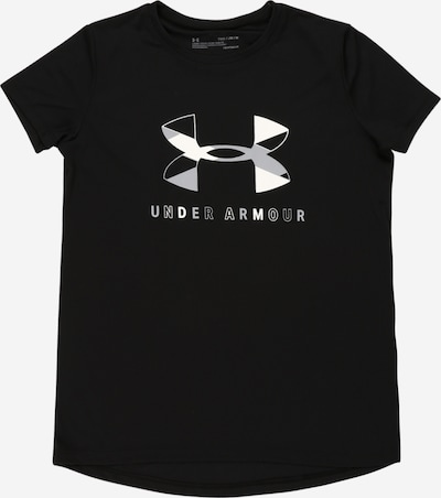 UNDER ARMOUR Functional shirt in grey / black, Item view