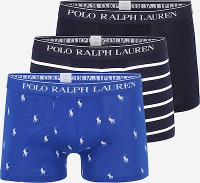 POLO RALPH LAUREN Boxers en bleu / bleu cobalt / blanc, Vue avec produit