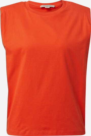AllSaints Top 'Coni' - oranžovo červená, Produkt